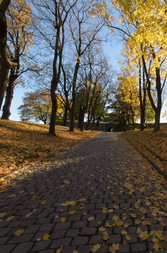Akershus Fortress in Oslo in the Autumn.