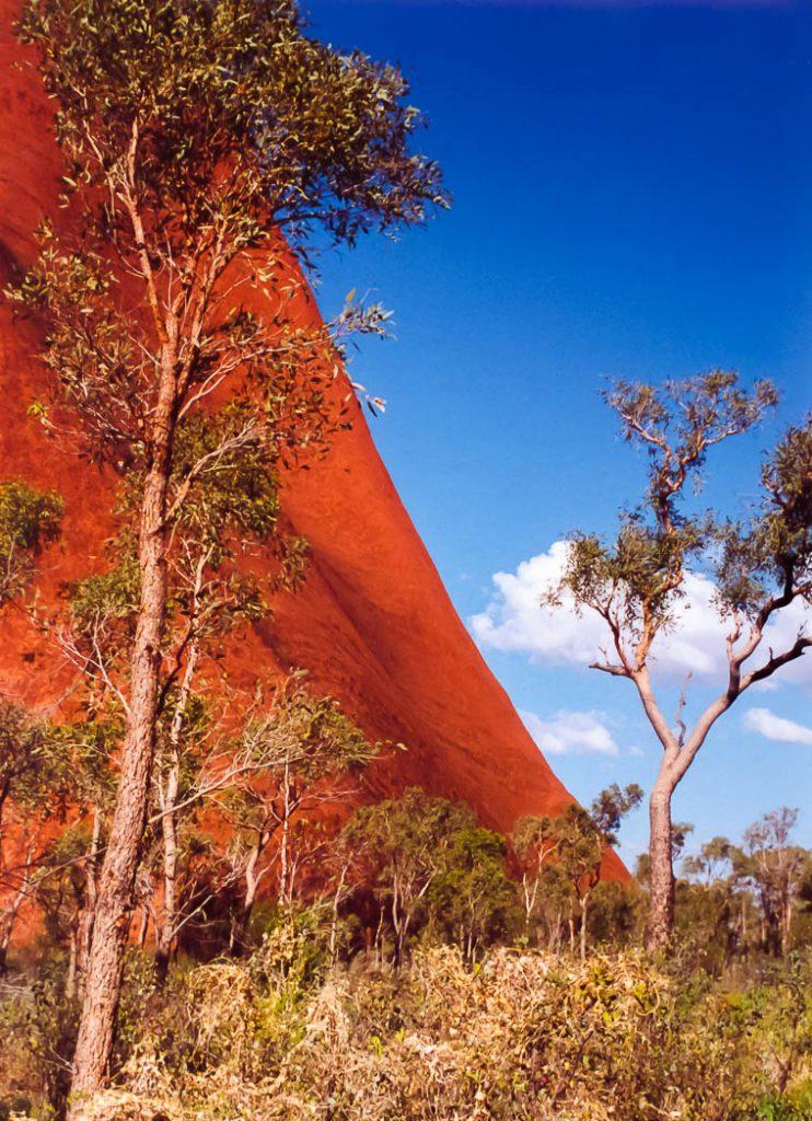 Uluru, the great rock in the centre of Australia