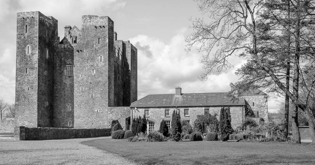 Another of Ireland's many castles. Barryscourt near Cork.