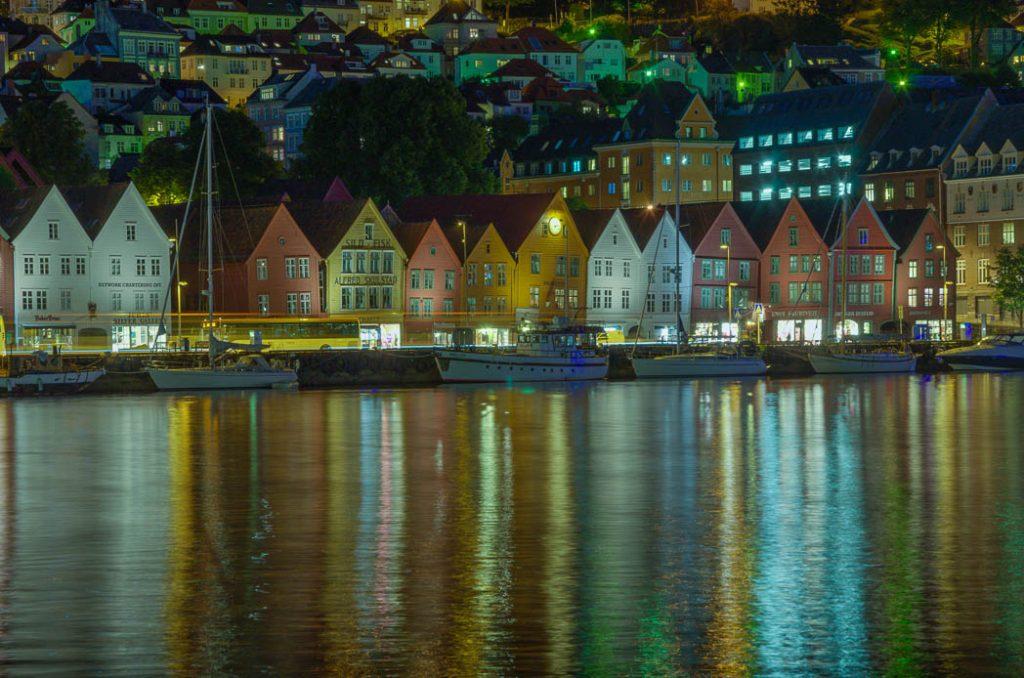 Bryggen, the historic quarter of Bergen.