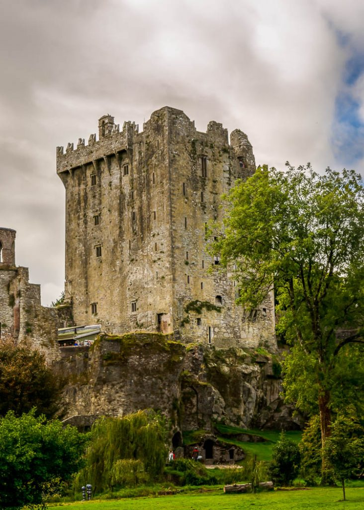 The famous ruins of Blarney Castle, Ancient home of the Blarney Stone, Cork Ireland.
