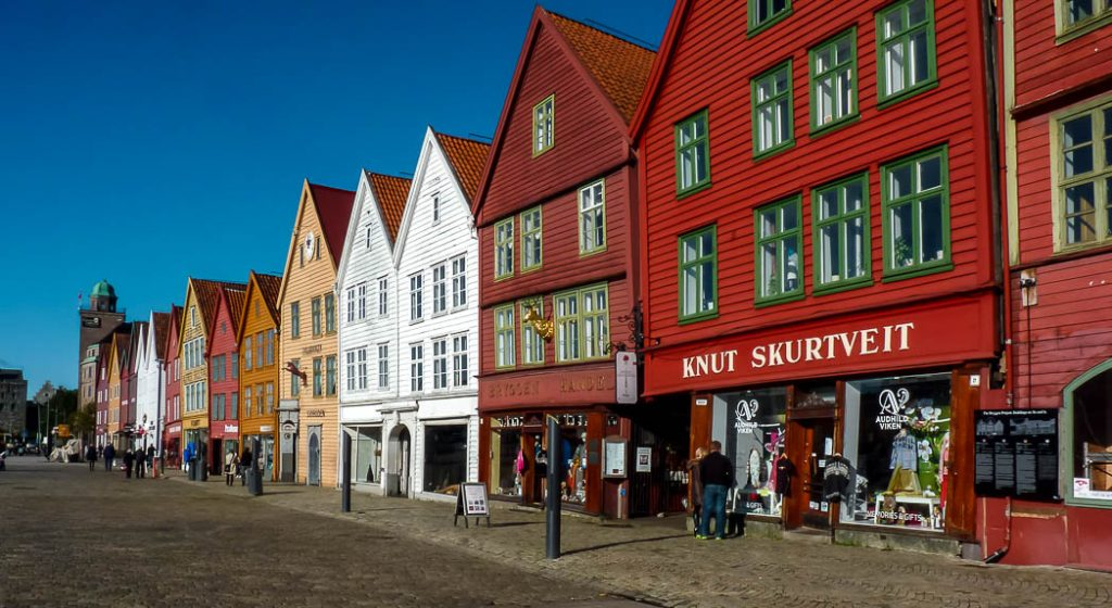 Bryggen, the Hanseatic quarter in Bergen