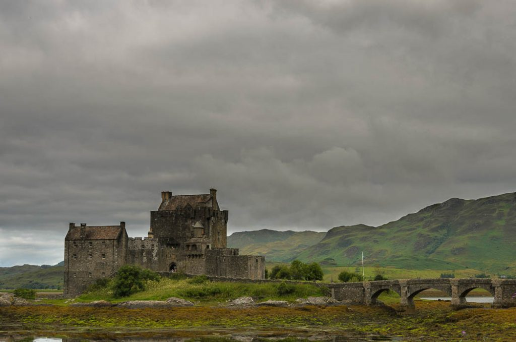 On the shores of Loch Duich Eilean Donan was a stronghold of the McKenzies.