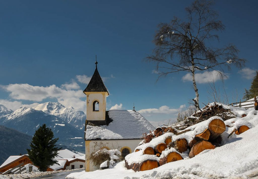 Austrian has lots of little alpine chapels.