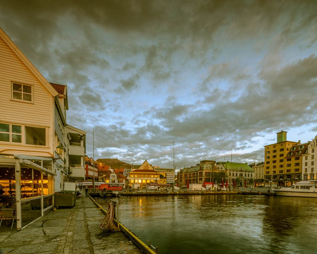 Fisketorget, the Fishmarket in Bergen