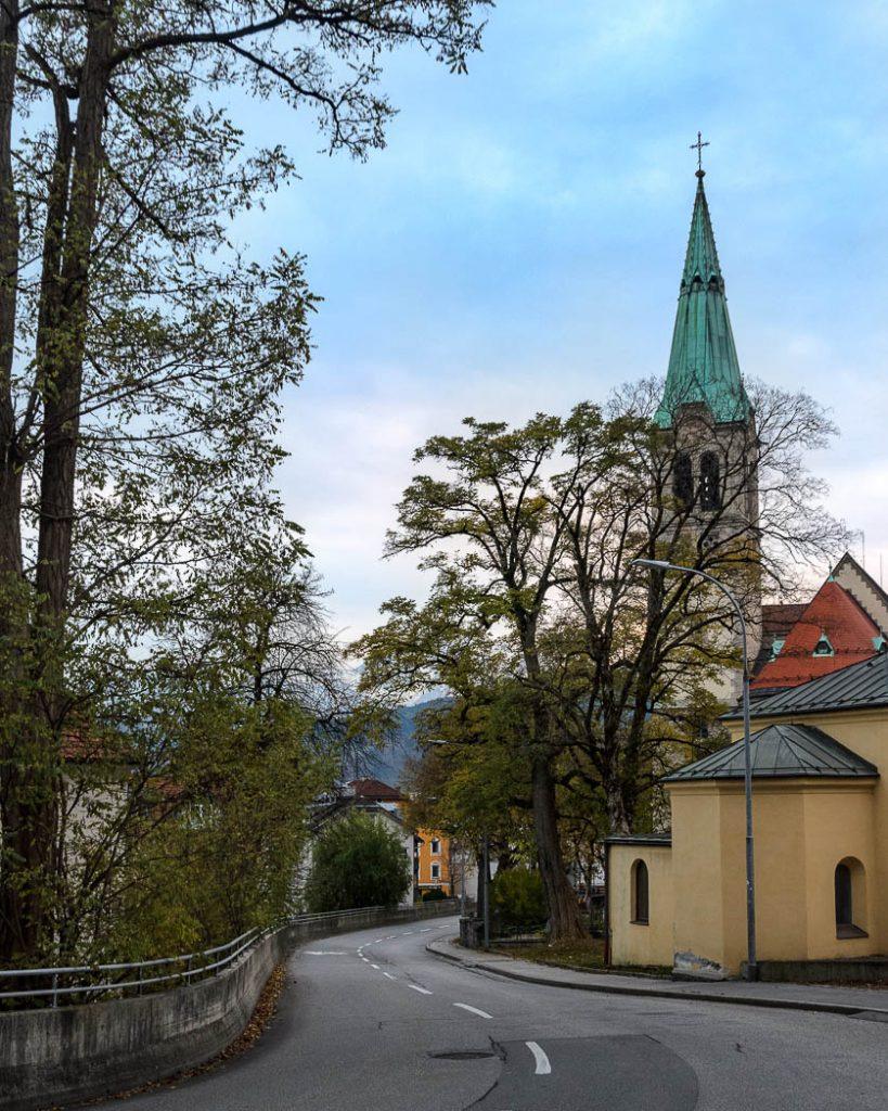 Austria is still full of churches despite the population not being very religious any more.