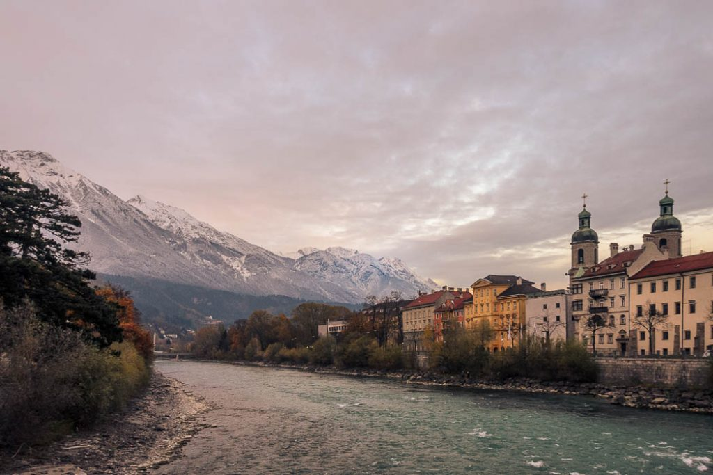 The Bridge over the river Inn gave the town of Innsbruck its name.