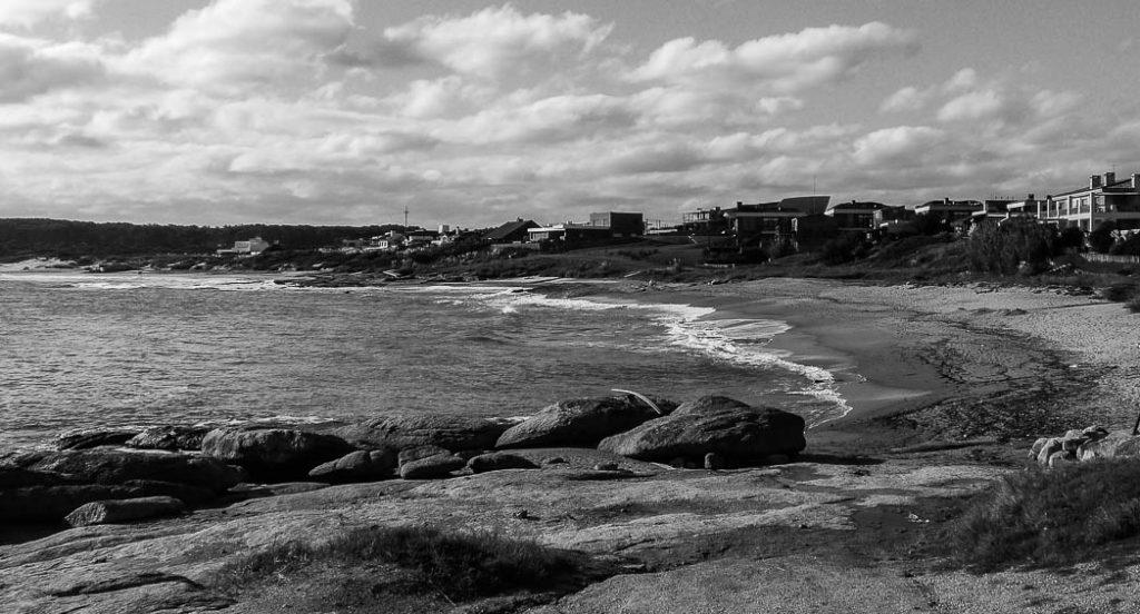 The beaches near Punta del Este in Uruguay.