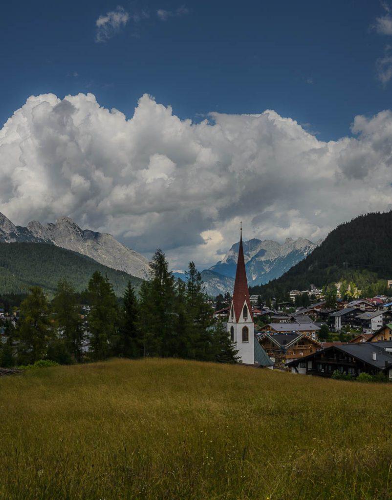 Seefeld in Tirol, a beautiful Mountain town.