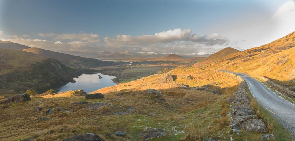 Healy Pass, on the Cork and Kerry border, looking into Kerry.